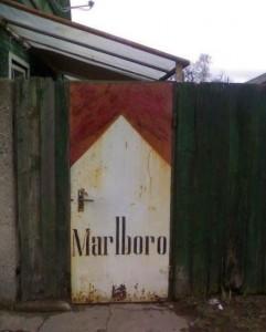 Marlboro dveře