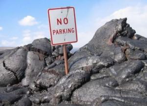 No parking - zákaz parkování