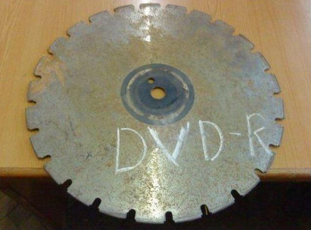 Ocelové DVD-R