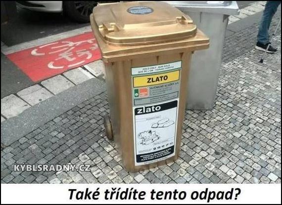 Také třídíte odpad