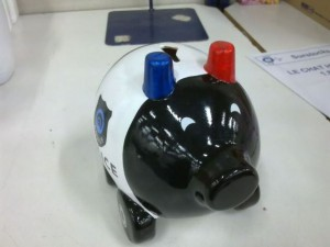 Policejní prasátko