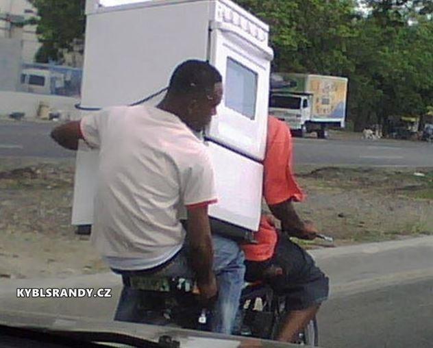 Problematický pořevoz sporáku