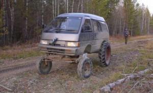 Zajímavé vozítko do terénu
