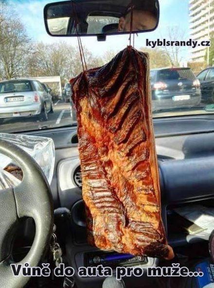 Vůně do auta pro muže...