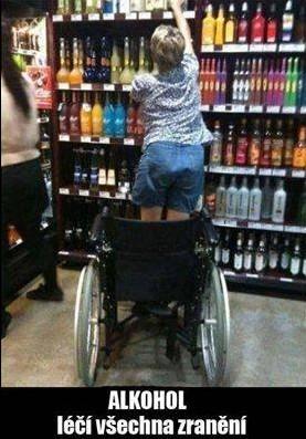 Alkohol léčí všechna zranění