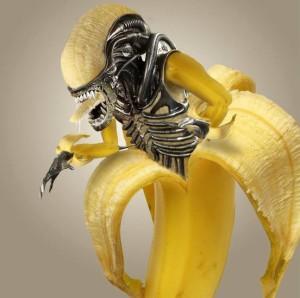 Banánový vetřelec