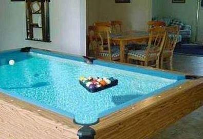 Bazén - kulečník