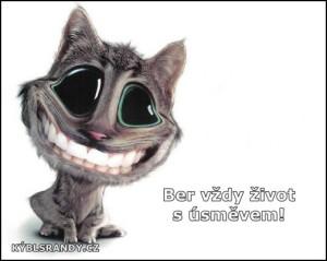 Ber vždy život s úsměvem!