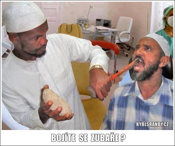 Bojíte se zubaře?