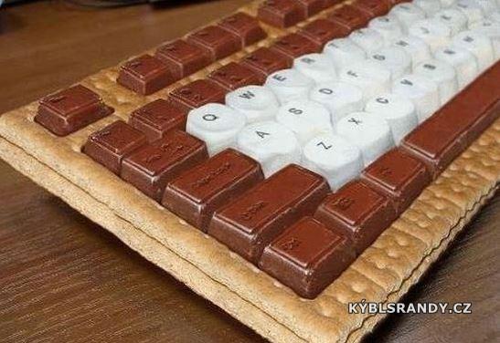 Chutná klávesnice