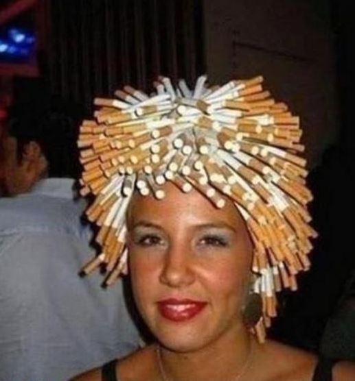 Cigaretový účes