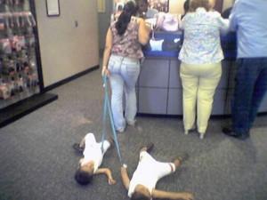 Děti na vodítku