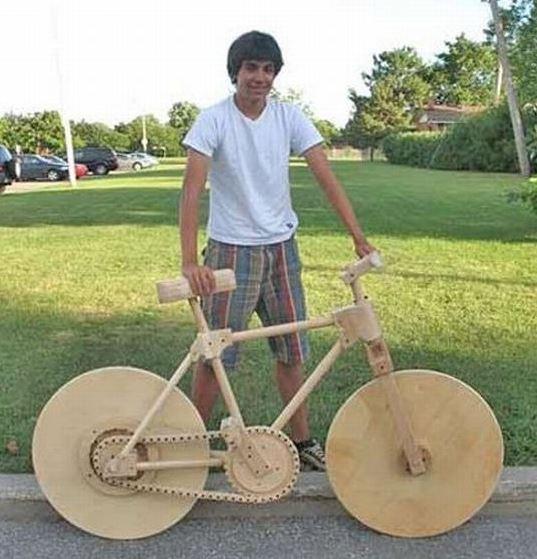 Dřevěné kolo