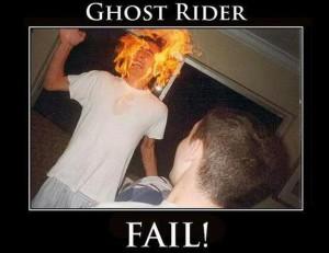Ghost Rider - Fail!