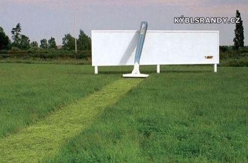 Holíme trávu