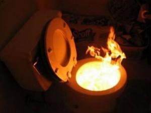 Když hoří WC