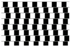 Jsou horizontální čáry souběžné?