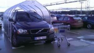 A má zaparkováno!