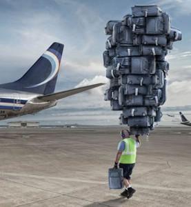 Neuleťte, ještě zavazadla!