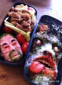 Jídlo obličeje