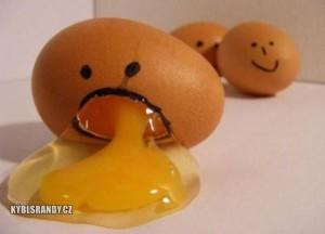 Když se vejce pozvrací