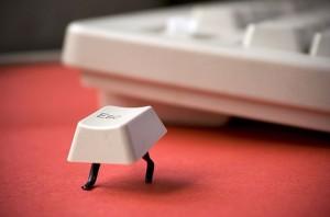 Když uteče klávesa Esc