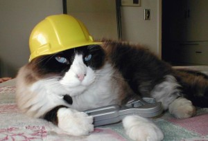 Kočka opravář
