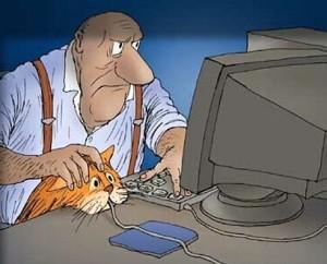 Kočka sežrala myš