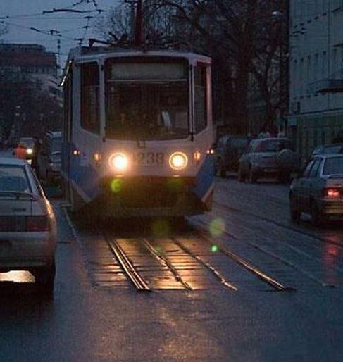 Konečná zastávka tramvaje
