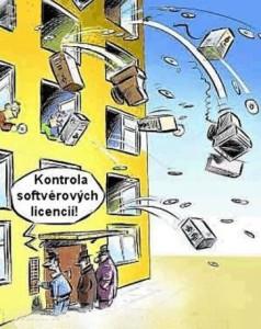 Kontrola softvérových licencí