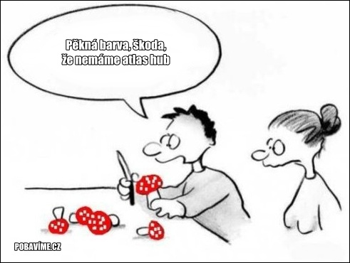Zábavné kreslené vtipy