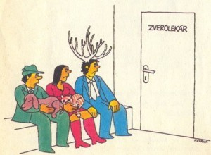 Kýbl srandy - kreslené vtipy