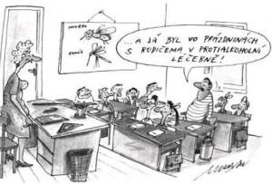 Srandy kopec - kreslené vtipy