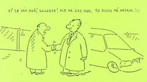 Vtipy kreslené obrázky