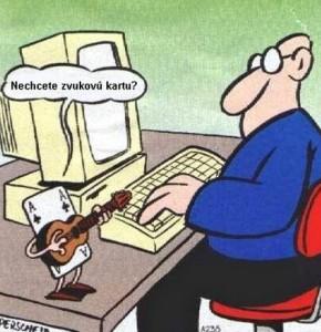 Vtipné kreslené obrázky