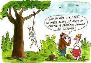 Zábavné kreslené obrázky