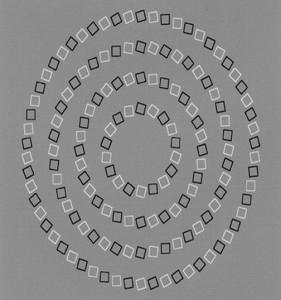 Tyto kruhy jsou kulaté a nedotýkají se!
