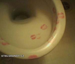 Láska k záchodové míse