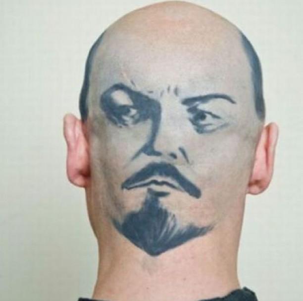 Lenin na hlavě