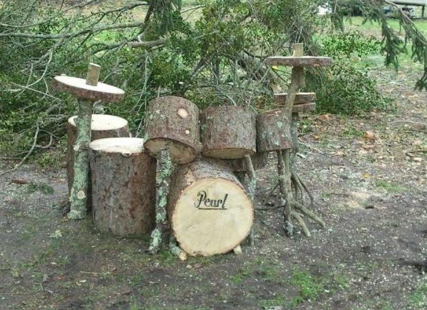 Lesní bicí