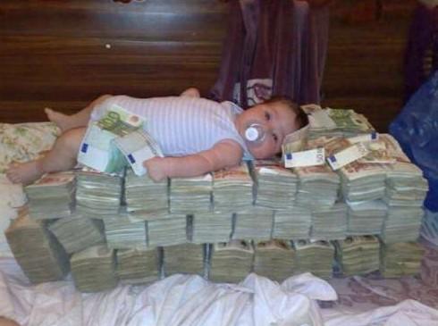 Jak se leží na penězích
