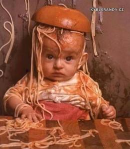 Miluje špagety