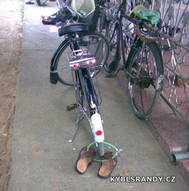 Mimořádně zabezpečené kolo