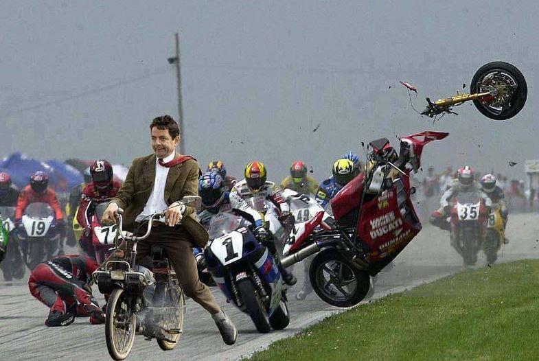 Mr. Bean vede