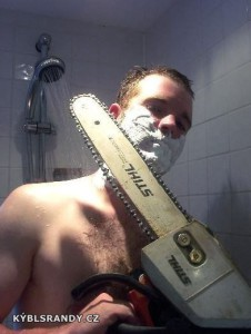 Musím se oholit