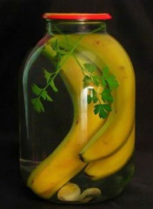 Naložené banány