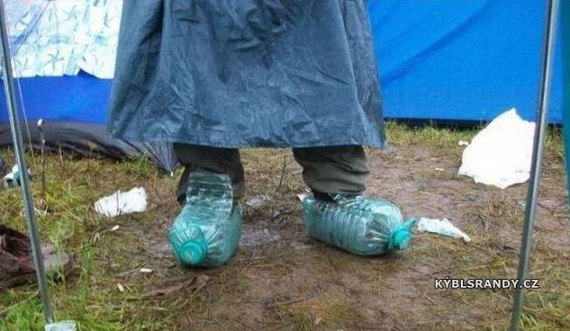 Laciné nepromokavé boty