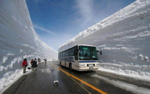 Neuvěřitelná vrstva sněhu