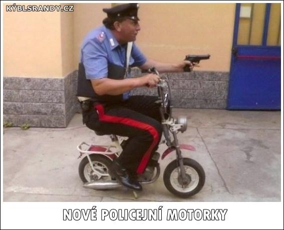 Nové policejní motorky