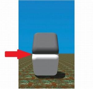 Oba čtverce mají stejnou barvu